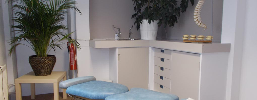 Stoke Chiropractic Clinic Treatment Room