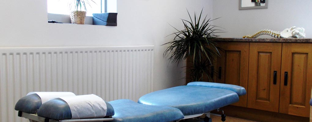 Stoke Chiropractor Treatment Room 2