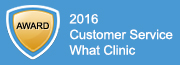 what clinic customer service award 2016