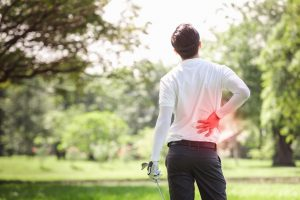 chiropractor stoke on trent treats golfers for back pain and other injuries