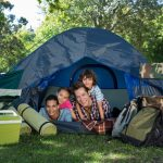 back care advice when camping from our Stoke chiropractor